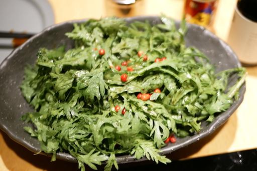 春菊のサラダ