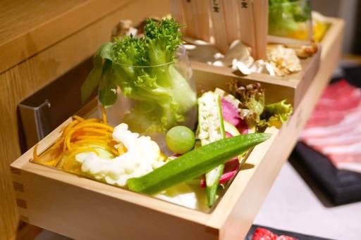 野菜とキノコ