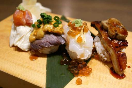 創作寿司盛り合わせ