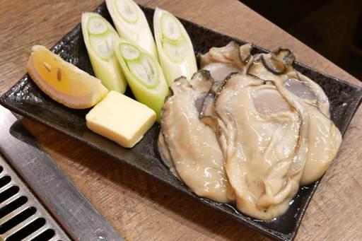 生牡蠣バター焼き