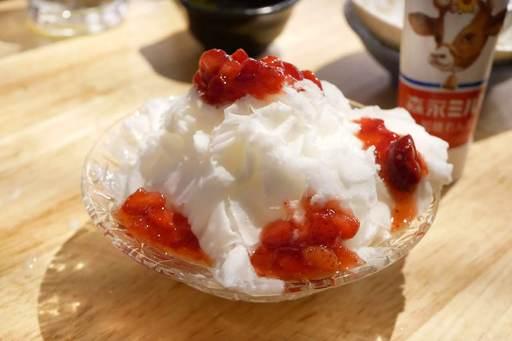 台湾かき氷(いちごとマンゴー)