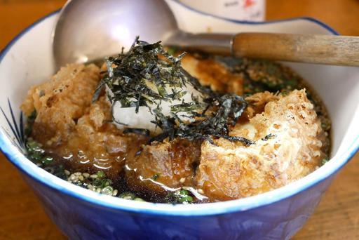 自家製胡麻豆腐の揚げ出し