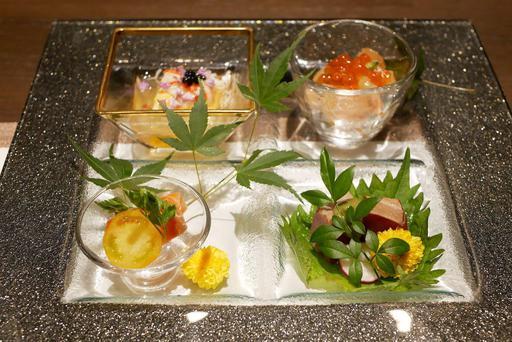 本日の彩り前菜 4種