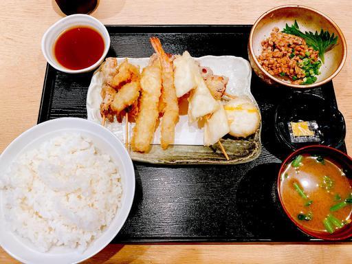 天ぷらとか納豆とか