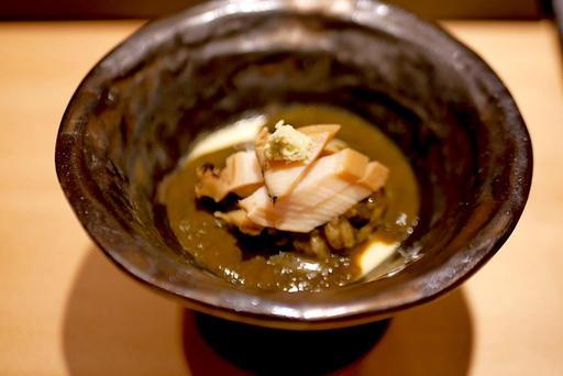 アワビの茶碗蒸しご飯