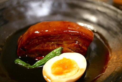 角煮風 黒酢のボルケッタ